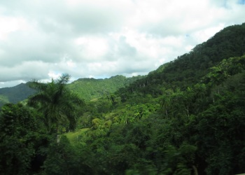 On the road out of Baracoa