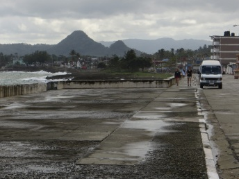 The Malecon in Baracoa