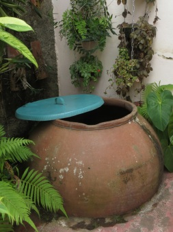 Old tinajon or clay water pot used in Camaguey