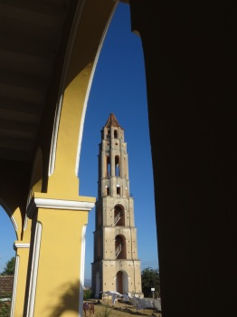 The tower at Iznaga