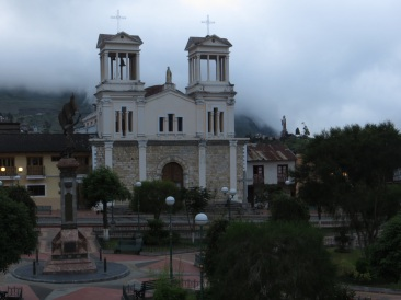 Main church in Alausi