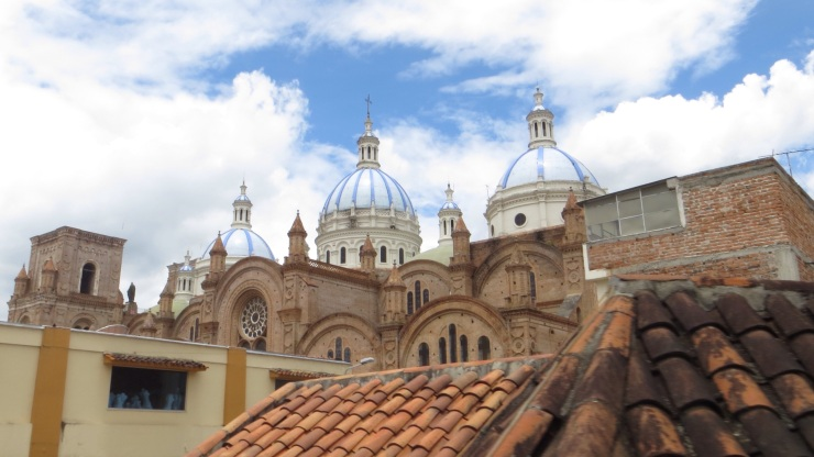 Roofs of Cuenca