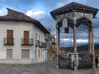 Plaza in Cuenca