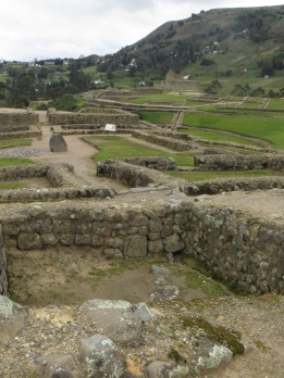 Inca ruins at Ingapirca