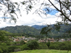 View of Vilcabamba
