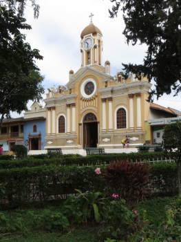 Central Plaza in Vilcabamba