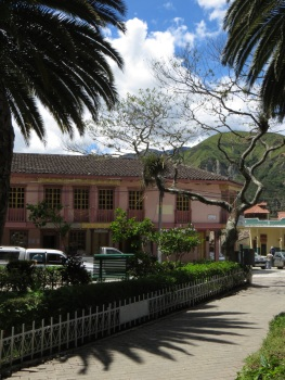 Centre of Vilcabamba