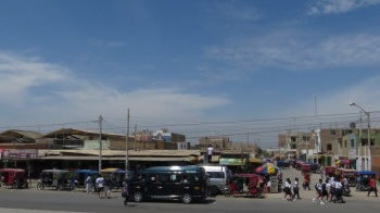 One of the Peruvian towns we passed through