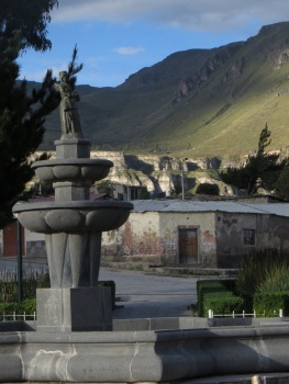 Plaza de Armas in Maca