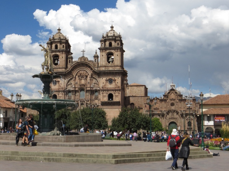 Jesuit Church in Plaza de Armas