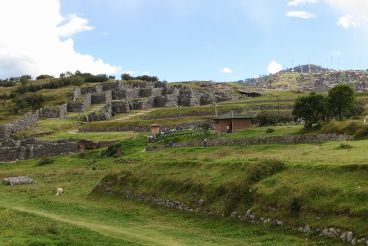 Sacsayhuaman alongside the communications towers!