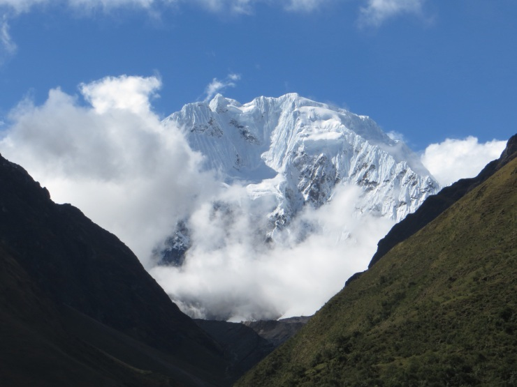 The Salkantay glacier