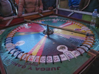 Roulette like gambling game