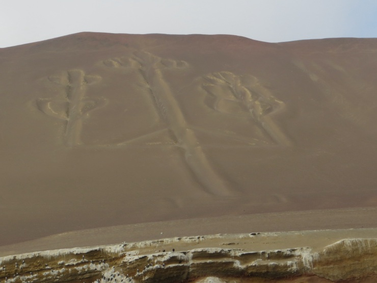 The Candelabra in Paracas National Park