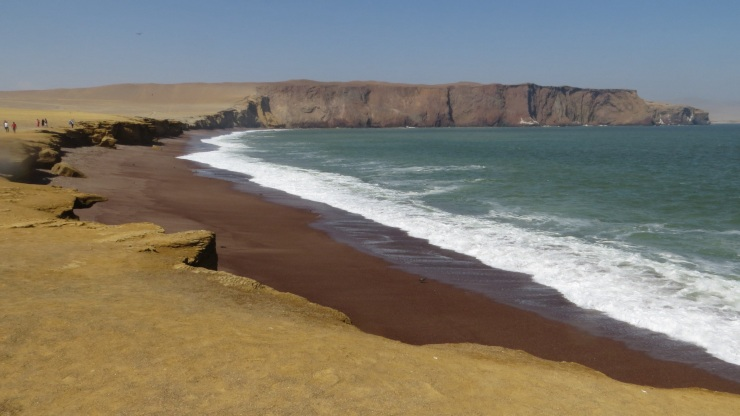 Playa de Roja in Paracas National Park