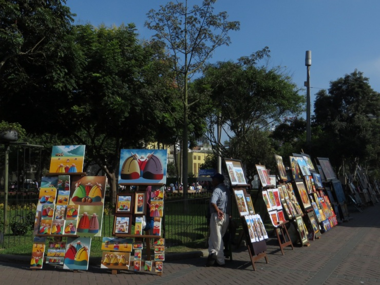 Art in Kennedy Park, Miraflores