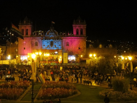 Sound and Light in the Plaza de Armas