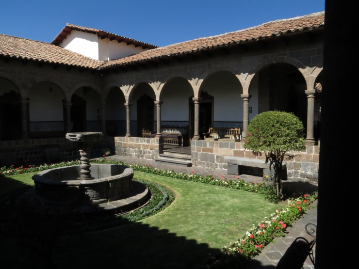 Courtyard of the Museum of Religious Art