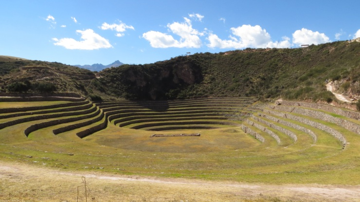 The Inca ruins at Moray