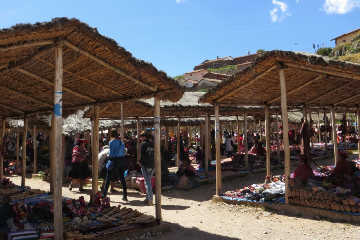The market in Chinchero