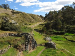The ruins at Chinchero