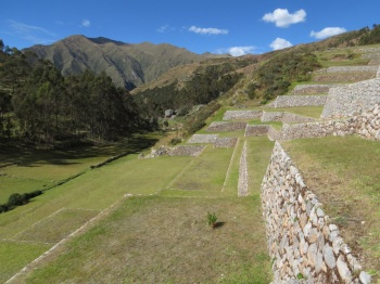 The terraces at Chinchero