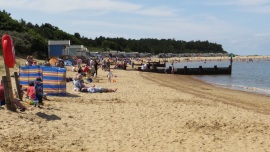 Beach at Wells-next-the-sea