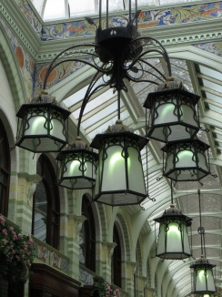 Lights in the Royal Arcade