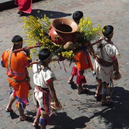 Part of the procession