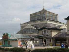 A sad looking Winter Gardens at Great Yarmouth