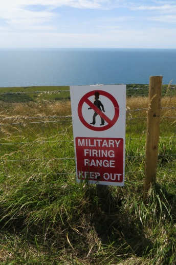 Lulworth Army Camp is nearby