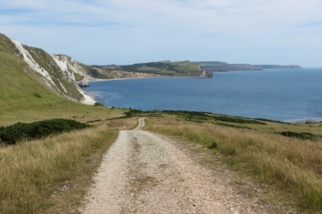 Empty coastal path