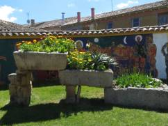 Garden at En El Camino in Boadilla