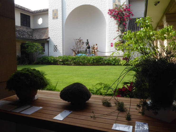 Courtyard in the Museum of Art