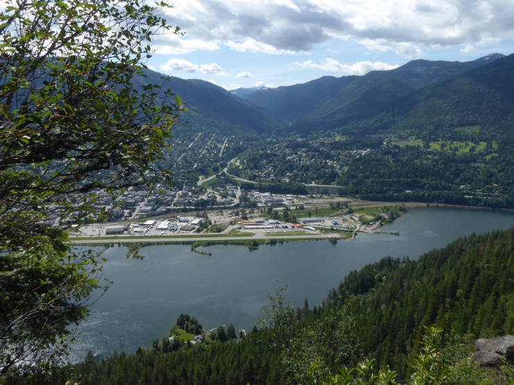 Looking over Nelson from Pulpit Rock