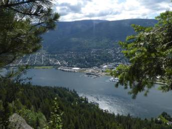 Nelson from Pulpit Rock