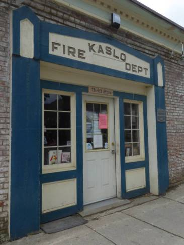 Old Kaslo fire department