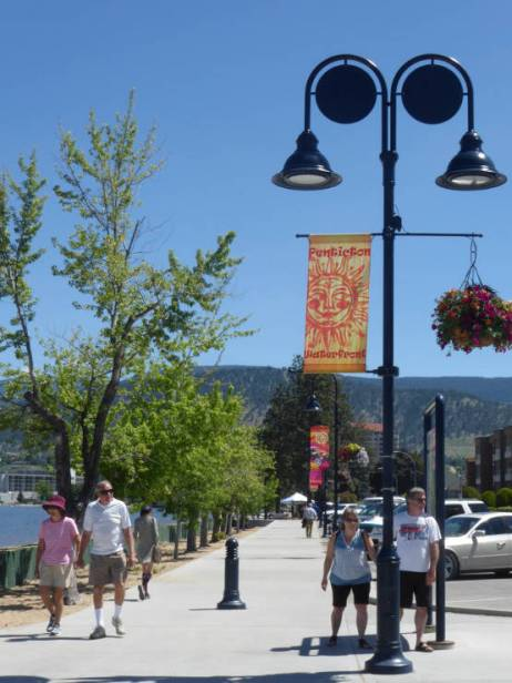 Penticton water front