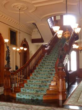 Staircase in Iolani Palace