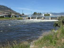 The dam in Penticton