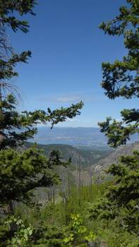 View from Kettle Valley track