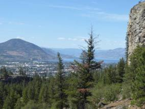 View of Penticton from Skaja Bluffs