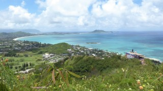 View towards Kailua