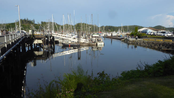 Marina at Port Hardy