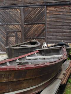 Old boats at the Cannery