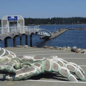 On Nanaimo waterfront