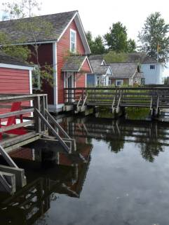 Restored Cannery houses