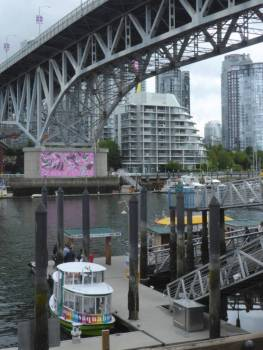 River boats at Granville Island