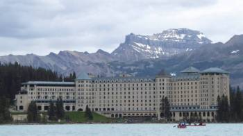 The Chateau at Lake Louise