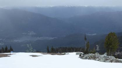 View from Blackcomb